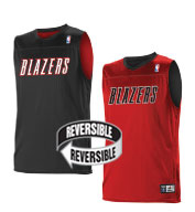 Custom Alleson Youth NBA Portland Trailblazers Reversible Jersey