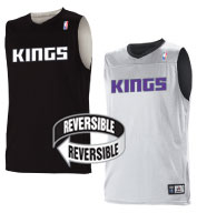 Custom Team NBA Sacramento Kings Adult Reversible Jersey