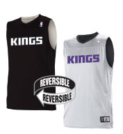 Custom Team NBA Sacramento Kings Youth Reversible Jersey