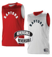 Custom Team NBA Toronto Raptors Adult Reversible Jersey
