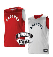 Custom Alleson Youth NBA Toronto Raptors Reversible Jersey