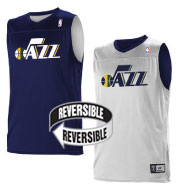 Custom Team NBA Utah Jazz Adult Reversible Jersey
