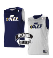 Custom Alleson Youth NBA Utah Jazz Reversible Jersey