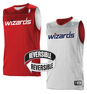 Custom Team NBA Washington Wizards Adult Reversible Jersey