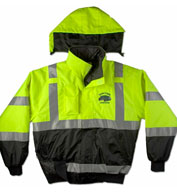 Custom Game Sportswear Adult ANSI/ISEA Municipality Jacket with Hideaway Hood