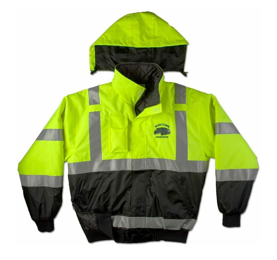 Game Sportswear Adult ANSI/ISEA Municipality Jacket with Hideaway Hood