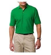 Custom Mens Egyptian Ringspun Cotton Pique Polos
