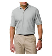 Custom Mens Tall Egyptian Ringspun Cotton Pique Polos