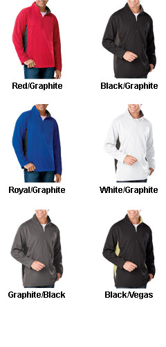 Mens Moisture Wicking Pullover - All Colors