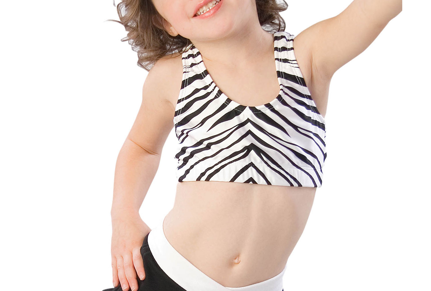 Youth Animal Print Sports Bra