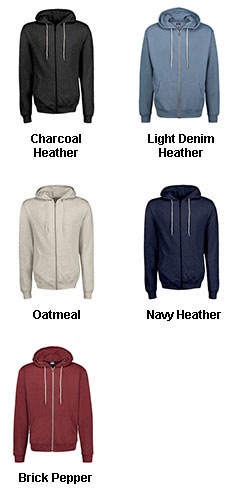 Retro Heather Zip Hoodie - All Colors