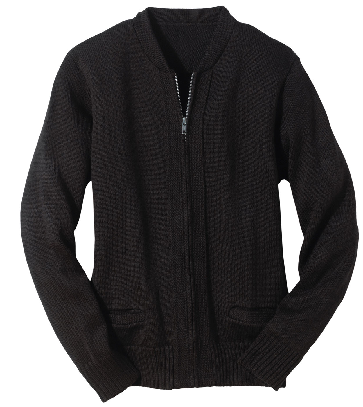 Full-Zip Cardigan Sweater