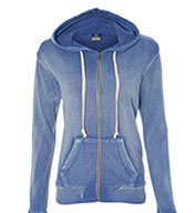 Custom Ladies Angel Fleece Sanded Hoodie