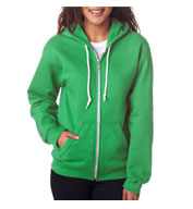 Anvil Ladies Fashion Full-Zip Hooded Sweatshirt