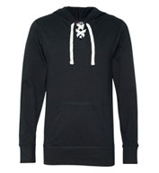 Custom Adult Sport Lace Jersey Hooded Pullover