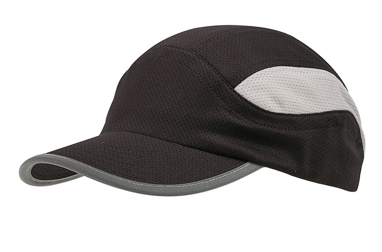 Mesh Runner Cap with Pre-Curved Bill
