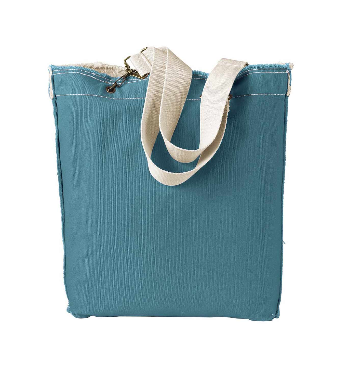 Authentic Pigment 14 oz.  Raw-Edge Tote
