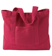 Pigment-Dyed Large Canvas Tote by Authetic Pigment