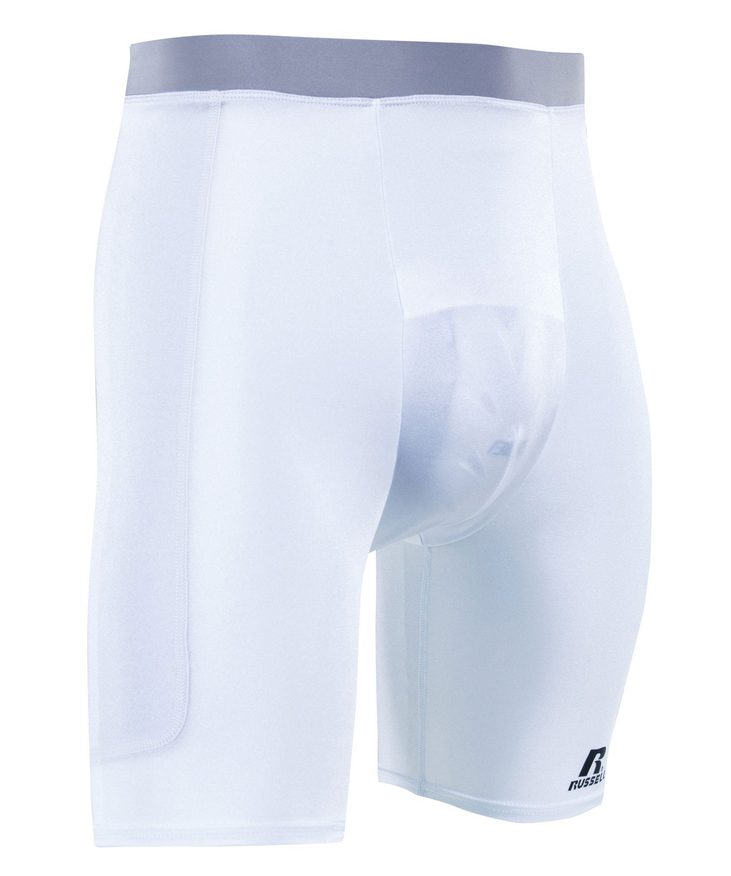 Russell Athletic Adult Sliding short with Cup Pocket