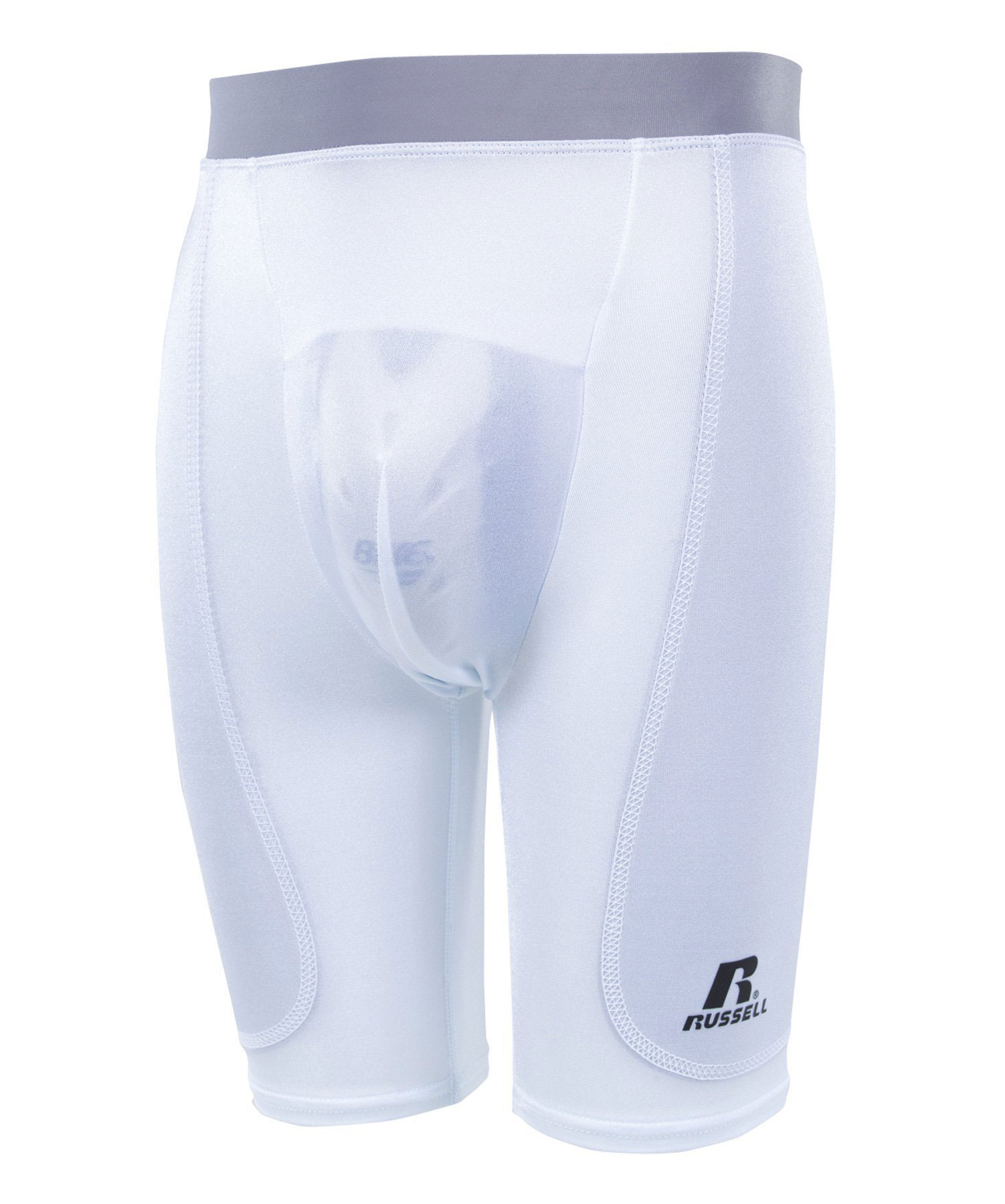 Russell Athletic Youth Dual Layered Cup Pocket Sliding Short