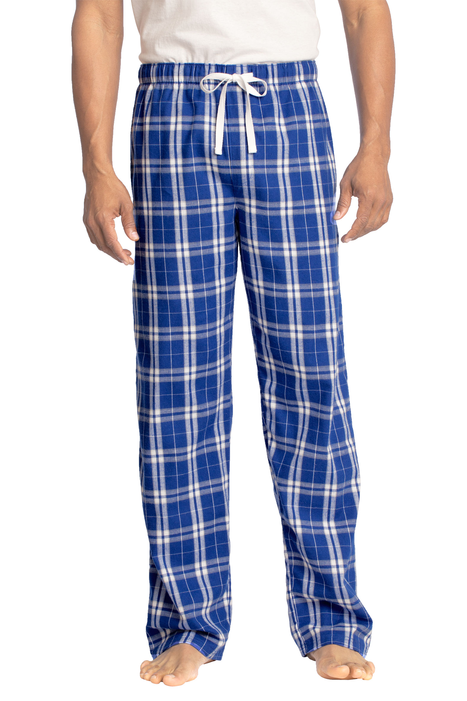 District® Mens Flannel Plaid Pajama Pants