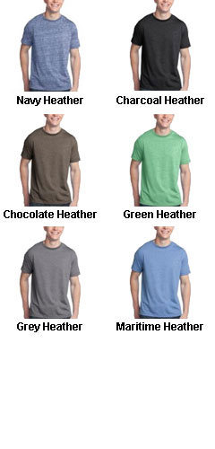 District Young Mens Tri-Blend V-Neck Tee  - All Colors