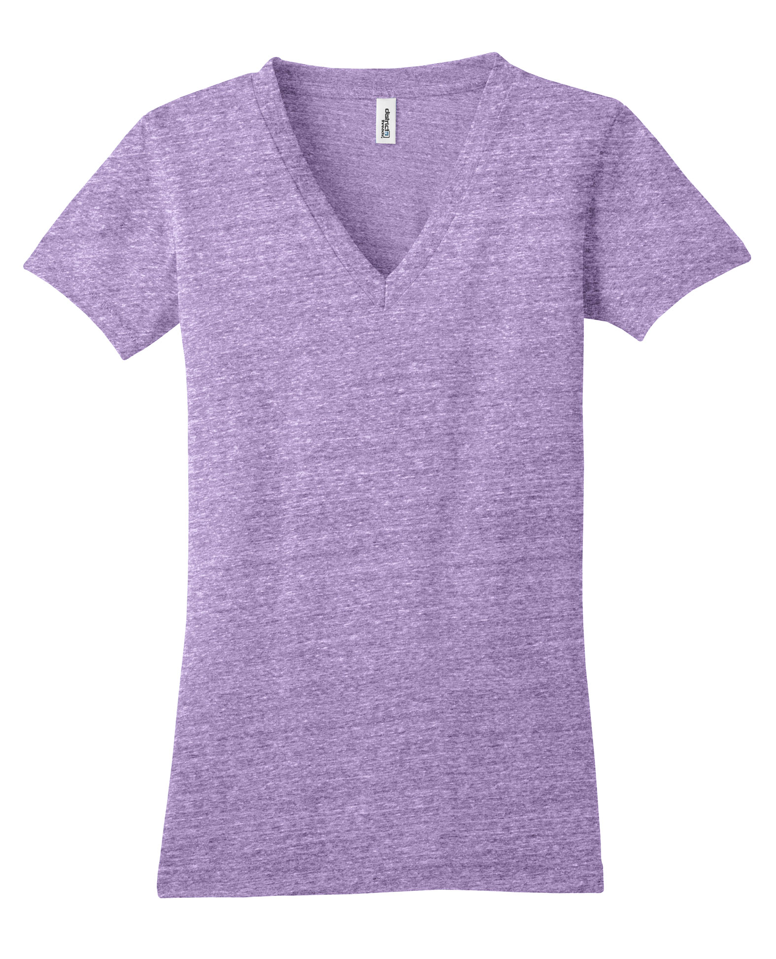 District Junior Tri-Blend V-Neck Tee
