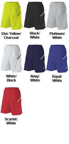 Alleson Youth Bounce Basketball Short - All Colors