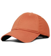 Custom Moisture Wicking Unstructured Cap with Hook and Loop Back
