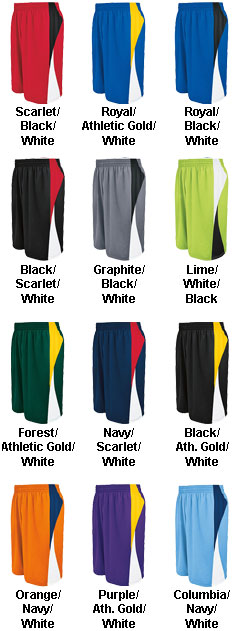 Youth Campus Reversible Game Short - All Colors