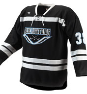 Custom Warrior Adult Turbo Hockey Game Jersey