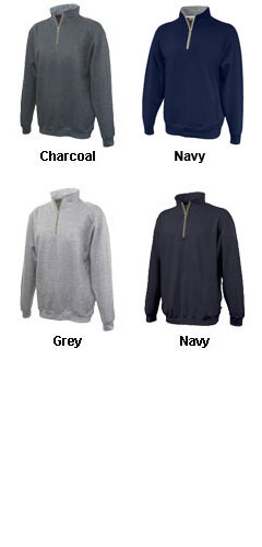 Updated Quarter Zip Fleece with Stand Up Collar - All Colors