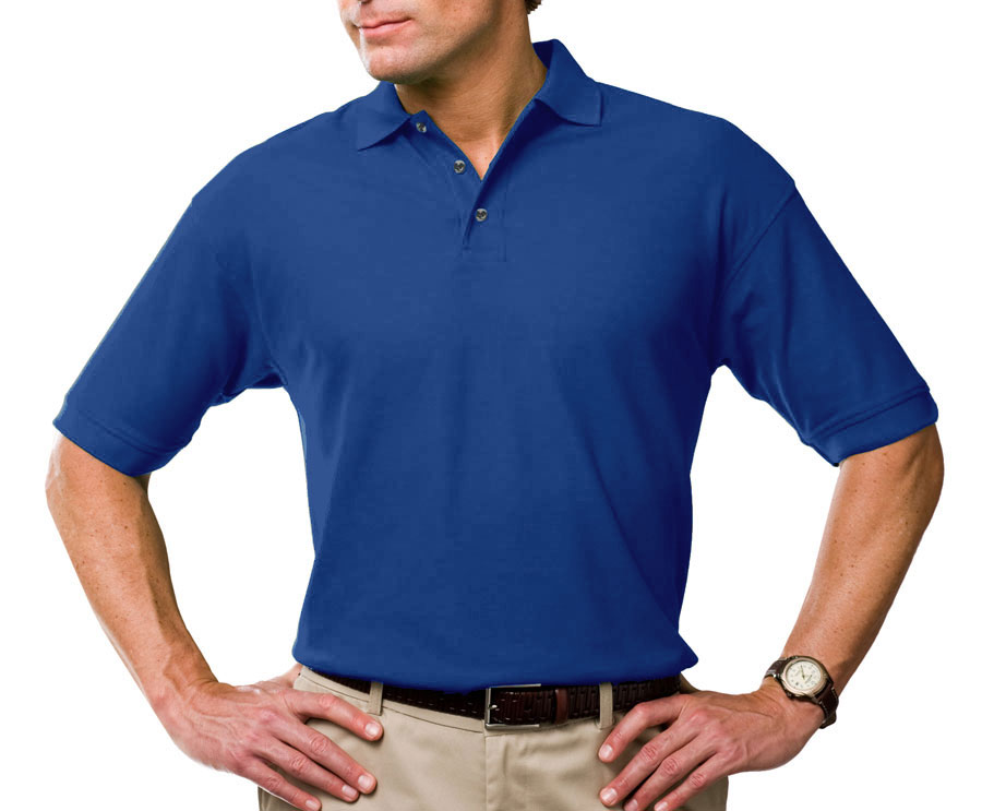 Mens Tall Moisture Wicking Polo