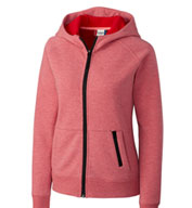 Custom Clique Ladies Lund Fleece Full Zip Hoodie