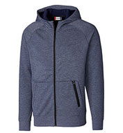 Mens Fleece Full Zip Hoodie