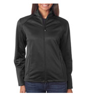 Custom UltraClub Ladies Soft Shell Jacket