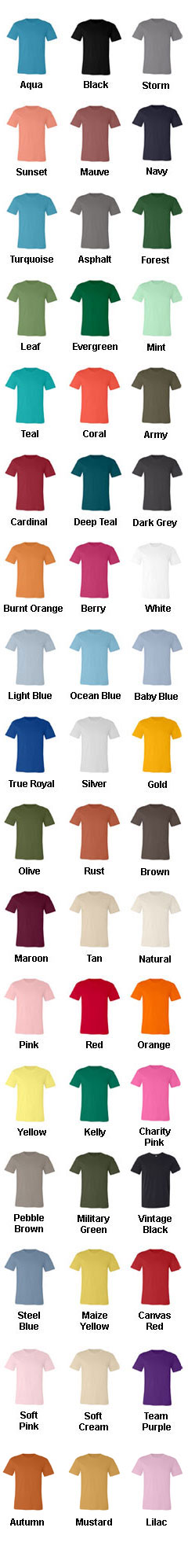 Unisex Jersey Short-Sleeve T-Shirt - All Colors