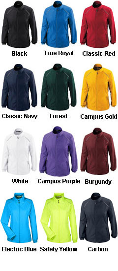 Ladies CORE365™ Unlined Lightweight Jacket - All Colors