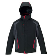 Custom North End Mens Height Insulated 3 in 1 Jacket