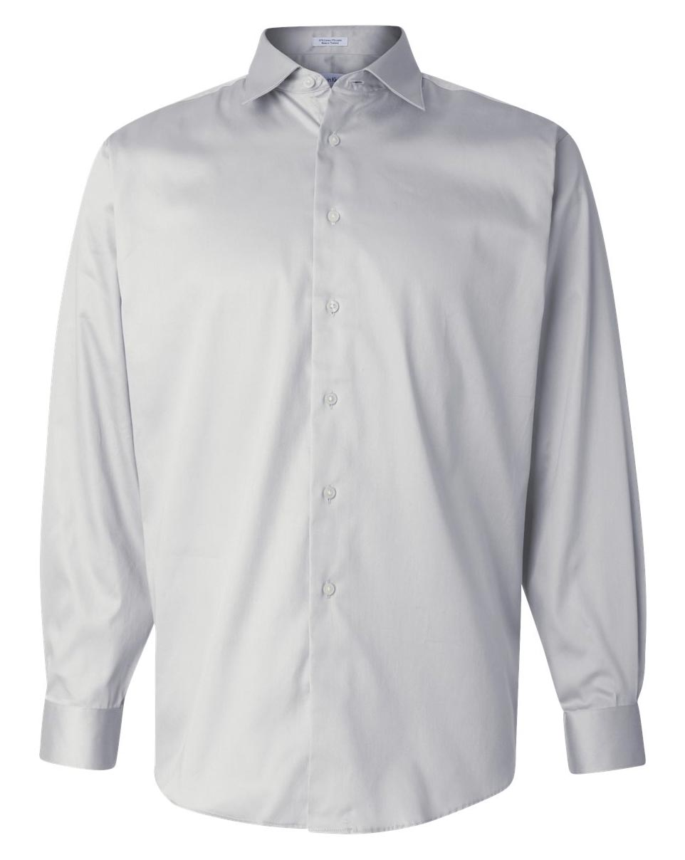 Customize calvin klein cotton stretch shirt mens for Calvin klein slim fit stretch shirt