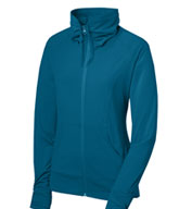 Custom Ladies Sport-Tek® Full Zip Stretch Warm-Up
