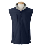 Custom Devon & Jones Mens Soft Shell Vest