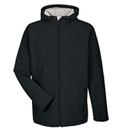 Custom Devon & Jones Mens Soft Shell Hooded Jacket