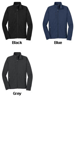 Eddie Bauer® Mens Shaded Crosshatch Soft Shell Jacket - All Colors