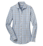 Custom Red House® Ladies Non-Iron Tricolor Check Shirt