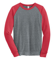 Custom Alternative Apparel Mens Champ Colorblock Crewneck Sweatshirt