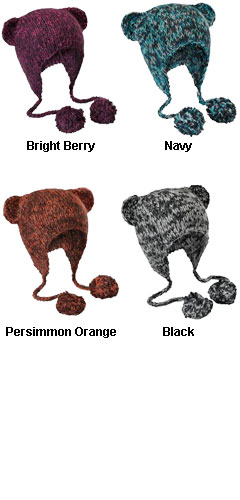 District® Hand Knit Cat-Eared Beanie - All Colors