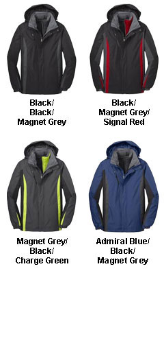 Mens Colorblocking 3-in-1 Jacket - All Colors