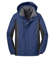 Mens Colorblocking 3-in-1 Jacket