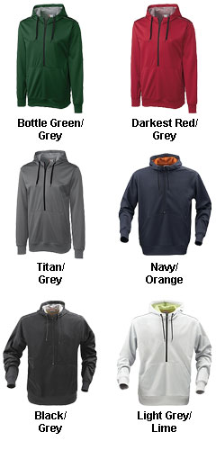Mens Archery Half Zip Hoodie - All Colors